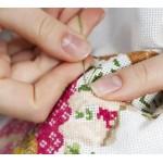 Вышивка нитками, бисером, лентами