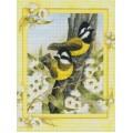 Желтые птички, 40*50 см.
