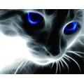 Синие глаза  40*50 см