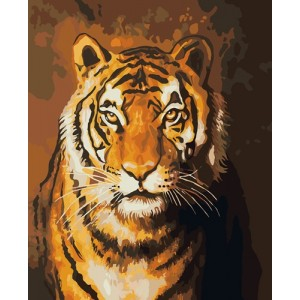 """Тигр"" 40 * 50 см."