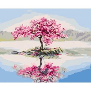 """""""Розовое дерево"""" 40 * 50 см."""