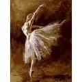 «Хрупкая балерина» Андрея Атрошенко  30*40 см.