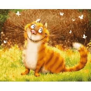 «Улыбка кота» 40*50 см.