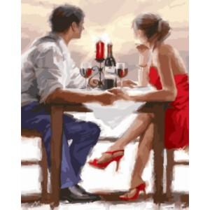 «Закат в Валентинов день» Ричарда Макнейла 40*50 см.