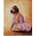 «Балерина-малышка» Ольги Легейды 40*50 см.