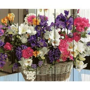 4480 Любимые цветы 40*50 см.
