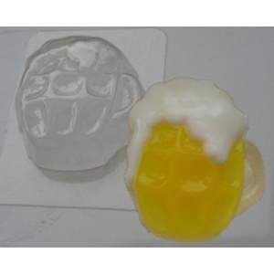 Кружка пива, форма для мыла пластиковая