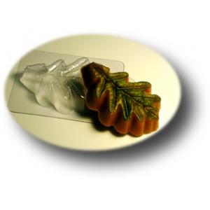 Дубовый лист, форма для мыла пластиковая