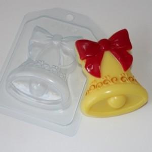 Колокольчик ЕХ, форма для мыла пластиковая