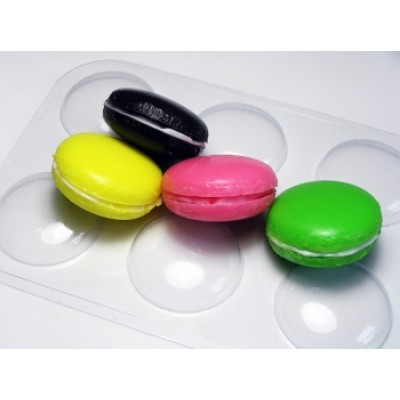 Макаронс, форма для мыла пластиковая