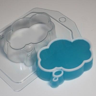 Выноска 3 облако, форма для мыла пластиковая