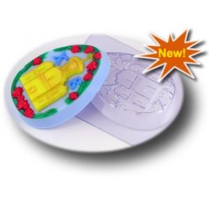 Светлый праздник, форма для мыла пластиковая