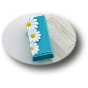 Цветы, форма для мыла пластиковая