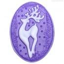 Сказочный олень, форма для мыла пластиковая