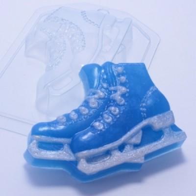 Коньки, форма для мыла пластиковая