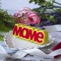 Маме (надпись), форма для мыла пластиковая