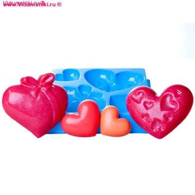Любовь, мастер-класс, форма для мыла пластиковая