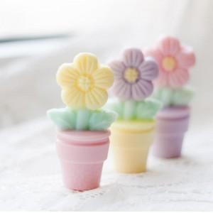 """3D """"Цветок"""" (2 половинки), форма для мыла пластиковая"""