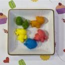 Веселый зоопарк, форма для мыла пластиковая