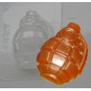Граната, форма для мыла пластиковая