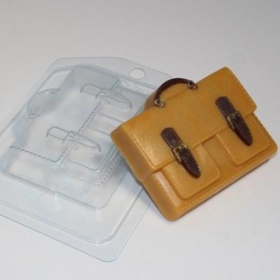 Портфель с 2-мя карманами, форма для мыла пластиковая