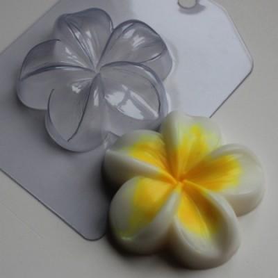 Плюмерия, форма для мыла пластиковая