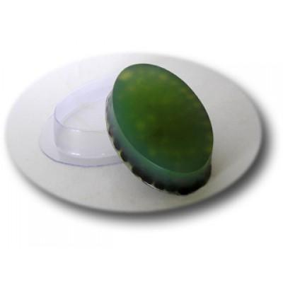 Овал малый, форма для мыла пластиковая