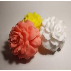Гвоздика 3D, форма для мыла силиконовая