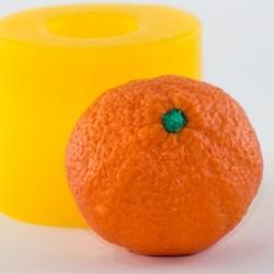 Мандарин 2 3D, форма для мыла силиконовая