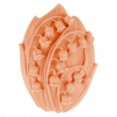 Ландыши А 2D, форма для мыла силиконовая
