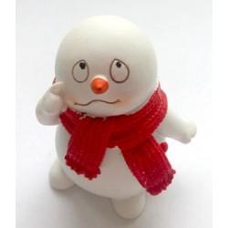 Снеговичок 1, форма для мыла силиконовая