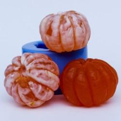 Мандарин 3D, форма для мыла силиконовая