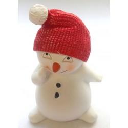 Снеговичок 2, форма для мыла силиконовая