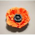 Цветок мака 3D, форма для мыла силиконовая