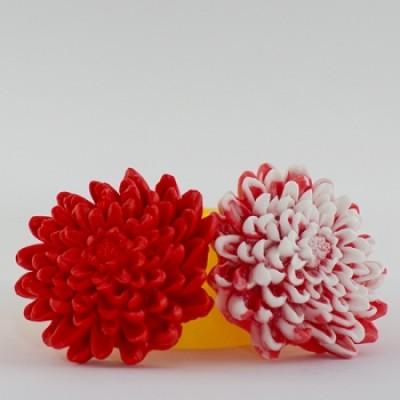 Астра 3D, форма для мыла силиконовая