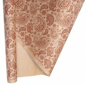 Бумага крафт ОГУРЦЫ , 70*100 см,  1 лист