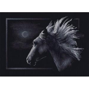 """""""Лунный конь"""", 30,5*23,5 см."""
