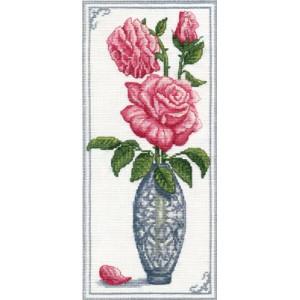 """Дамасская роза"" , 14*30 см."