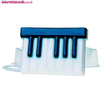Клавиши, форма для мыла