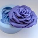 Роза объемная 2D, форма для мыла силиконовая
