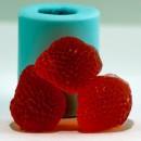 Клубничка 3D, форма для мыла силиконовая